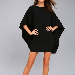 Lulu's   Best is Yet to Come Black Backless Dress